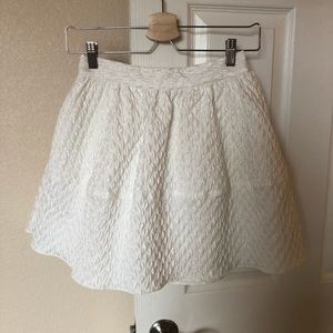 White Puffy Skirt